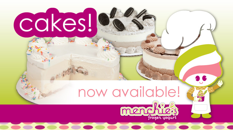 Cakes are now available!