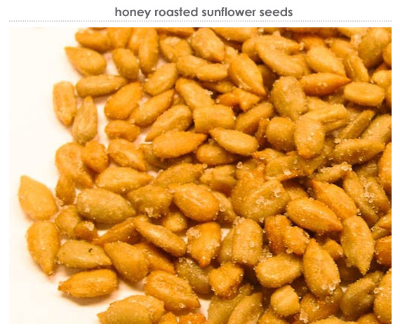 honey roasted sunflower seeds