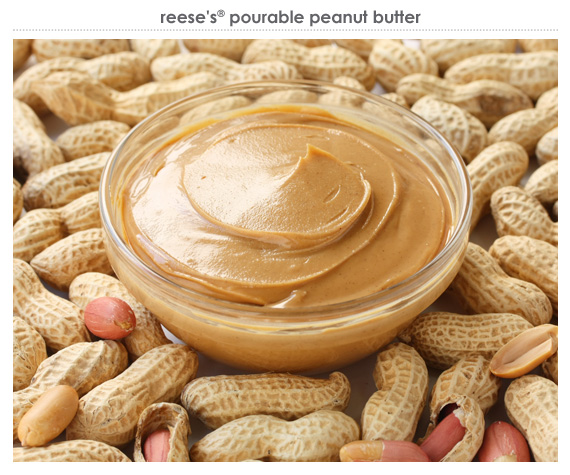 reese's® pourable peanut butter