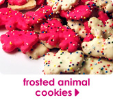 frosted animal cookies