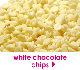 white chocolate chips