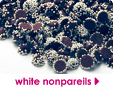white nonpareils